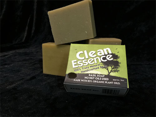 Basil Soap (No Nut Oil Soap)